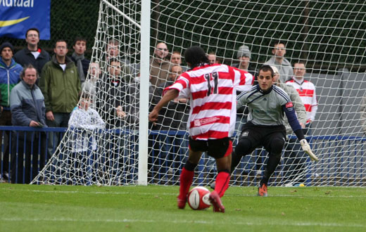 Dean Lodge sets up the goal