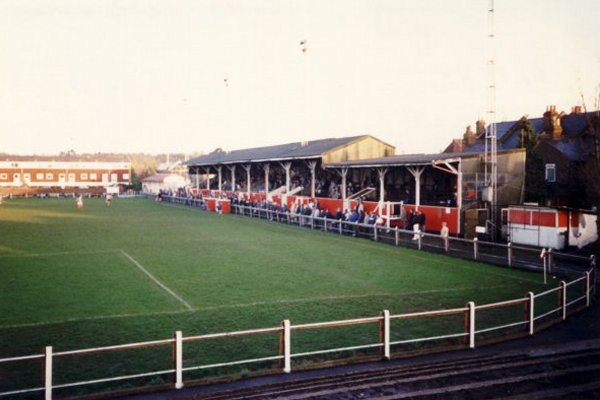 Taken from the terracing at the Richmond Road end on 02/01/1988 at the game versus Tooting & Mitcham Utd