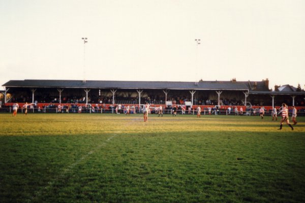 Full view of the main stand