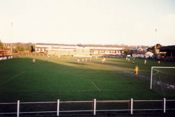 View from the Richmond Road End, facing the clubhouse